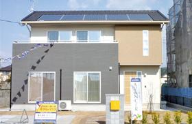 パナソニック耐震住宅工法テクノストラクチャーを採用したモデルハウス